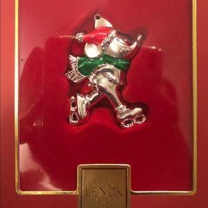 Lenox Skating Mickey Mouse Ornament